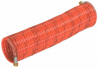 Spiral-Druckluftschlauch 10 mt mit Bajonett