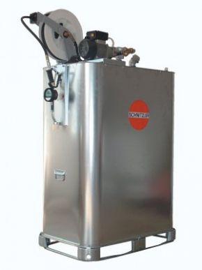 Unité de vidange d'huile avec dévidoir compact 1.000-1.500 l
