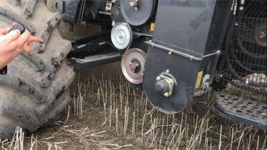 Contrôleur de pertes de grains moissonneuse-batteuse