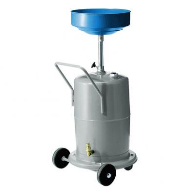 Altölauffanggerät-75 l fahrbar-mit Hydraulikkupplung