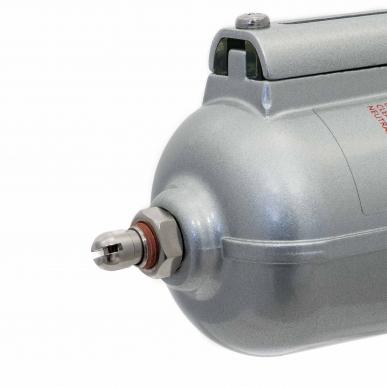 """Filtre régulateur lubrificateur 3 blocs avec manomètre et fixation 3/4"""" HD"""