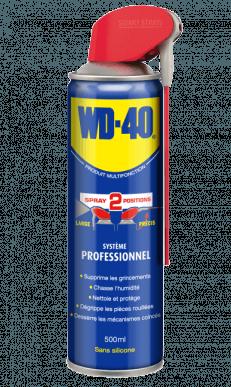 Dégrippant multi-usage WD-40 système professionnel 500ml