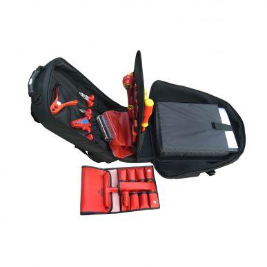 Werkzeug Rucksack GLOBETROTTER 22-tlg.