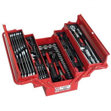Boîte à outils avec 86 outils