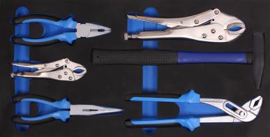 Werkzeugkiste mit 3 Schubladen 97-teilig. Versand nur auf Palette