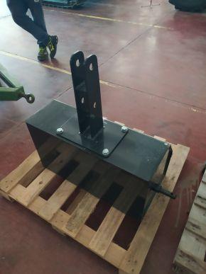Metallballast für 400 kg Fronthubwerk mit Staufach