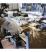 12 Arbeitshandschuhe verstärkter Rindslederkruste mit 7 cm Griff