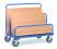 Plattenwagen bis 1200 kg, 7 Verstellmöglichkeiten für Einsteckbügel