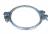 Spannband 2-teilig verzinkt, Ø 350mm