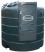 Cuve Gasoil/GNR fixe 5000L avec Pompe 230V-80L/min dans armoire intégrée