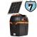 Electrificateur de clôture batterie 12V Modèle B200 + Kit solaire 6W