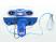 Automatische Brutmaschine aus thermoisolierendem ABS - REAL 49 PLUS EXPERT - mit Befeuchter SIRIO