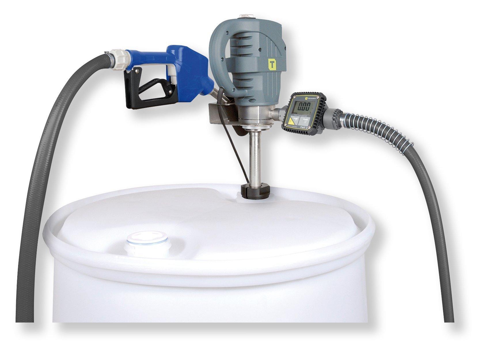 Elektropumpe Fur Adblue W85h Inox Fasspumpe Automatikzapfventil Ohne Raste Fmt3 8m Schlauch Tecalemit 108 601 401