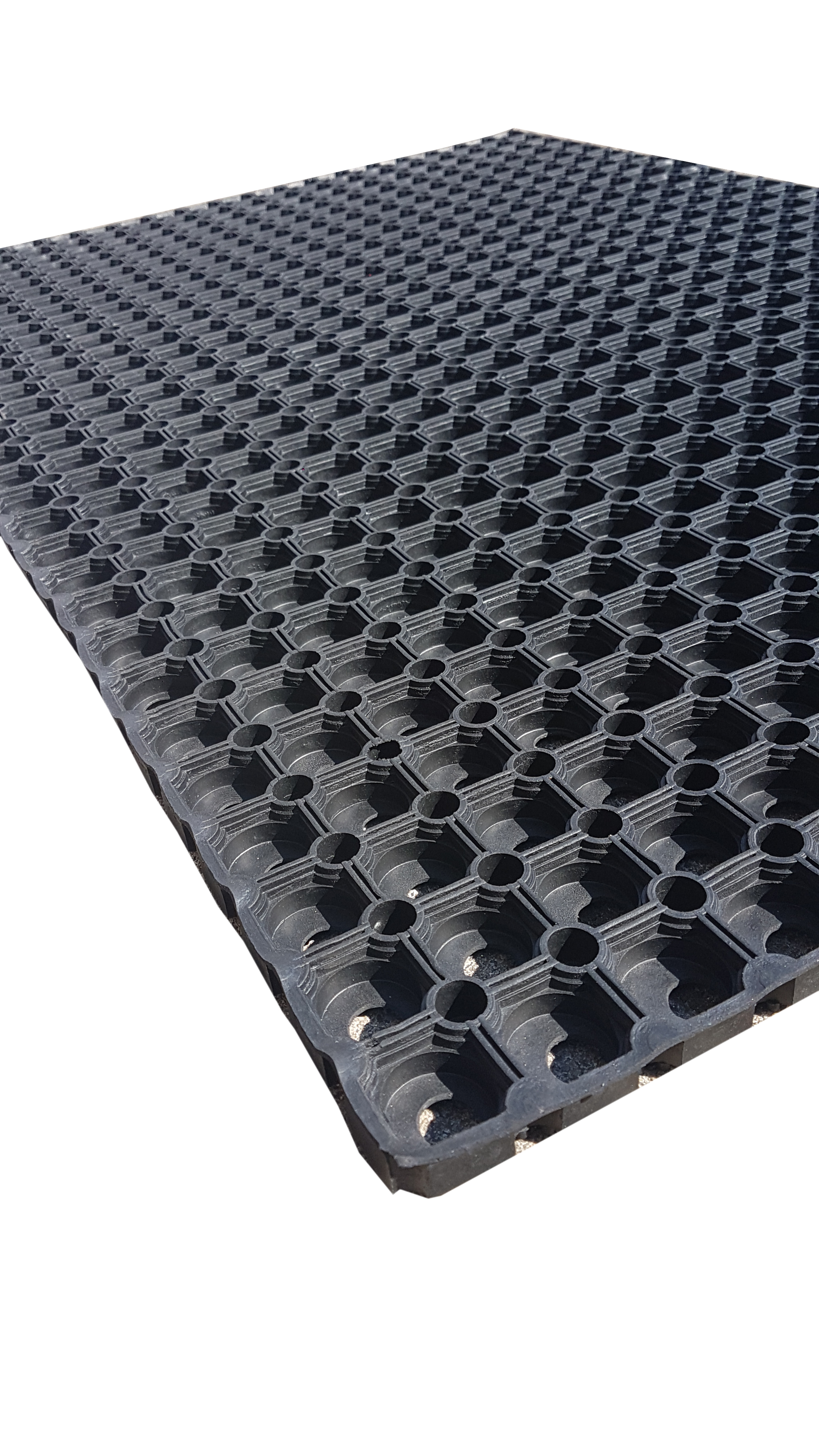 Gummi-Ringmatte 40 x 60 cm
