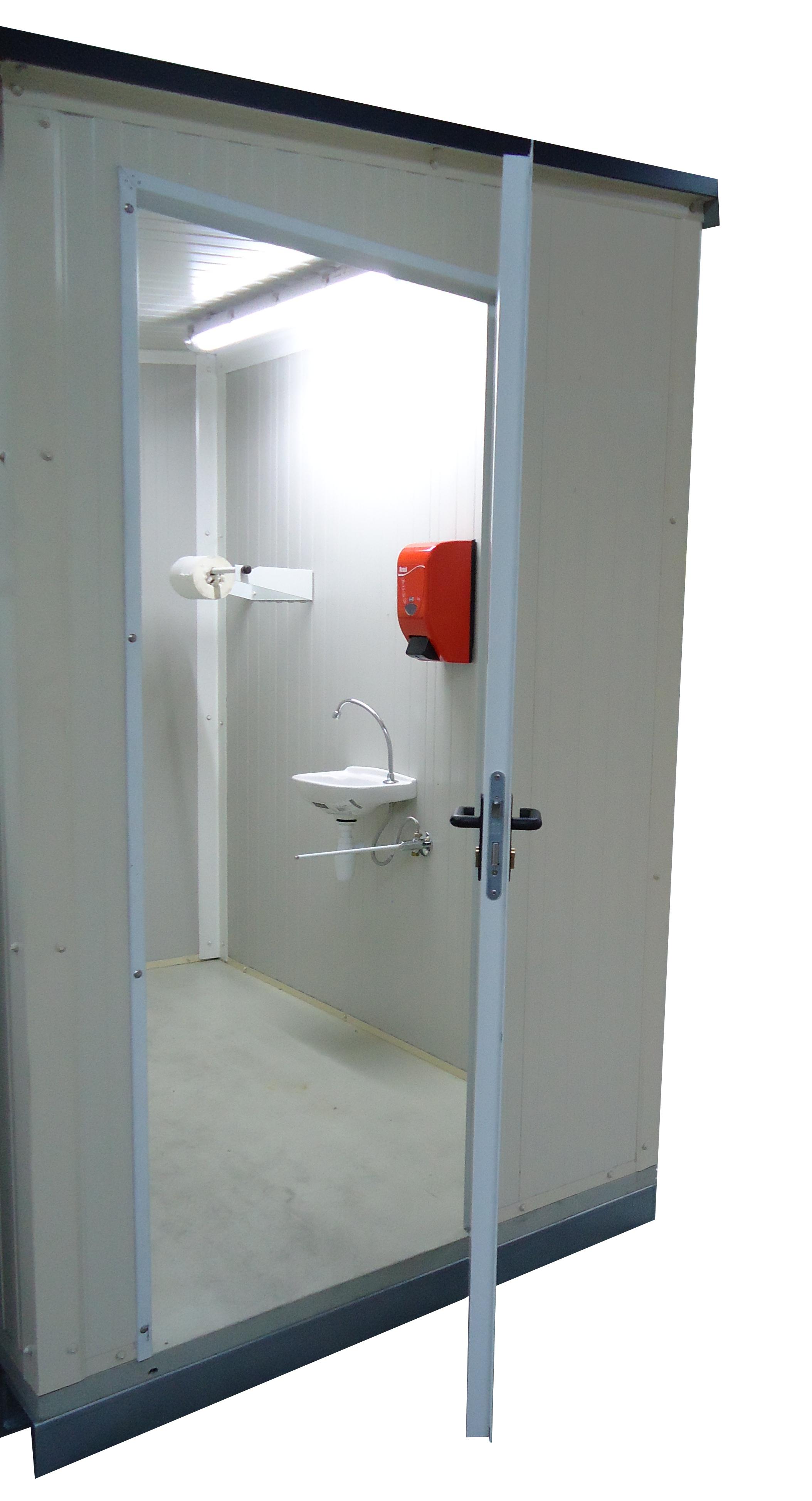 Sas Sanitaire 375m² Monté Avec Accessoire Coquelin
